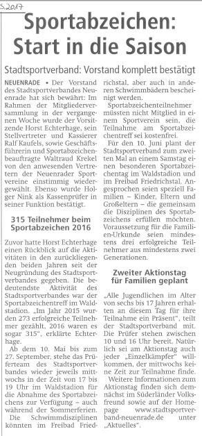 bedingungen für das deutsche sportabzeichen